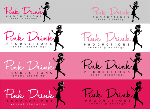Pink Drink Productions  A Logo, Monogram, or Icon  Draft # 101 by gondezh