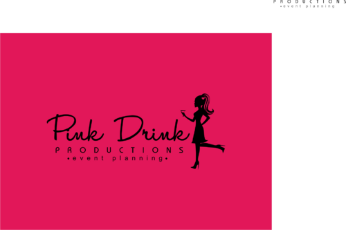 Pink Drink Productions  A Logo, Monogram, or Icon  Draft # 124 by gondezh
