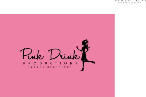 Pink Drink Productions  A Logo, Monogram, or Icon  Draft # 125 by gondezh