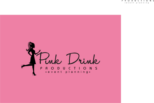 Pink Drink Productions  A Logo, Monogram, or Icon  Draft # 126 by gondezh