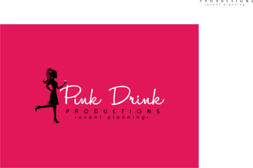 Pink Drink Productions  A Logo, Monogram, or Icon  Draft # 127 by gondezh