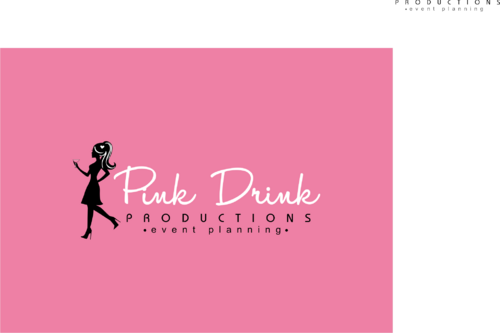 Pink Drink Productions  A Logo, Monogram, or Icon  Draft # 128 by gondezh
