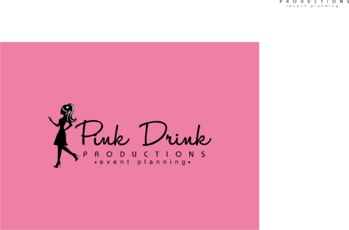 Pink Drink Productions  A Logo, Monogram, or Icon  Draft # 129 by gondezh