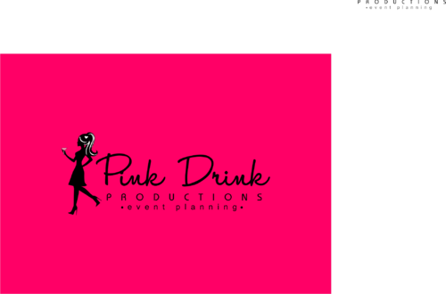 Pink Drink Productions  A Logo, Monogram, or Icon  Draft # 130 by gondezh