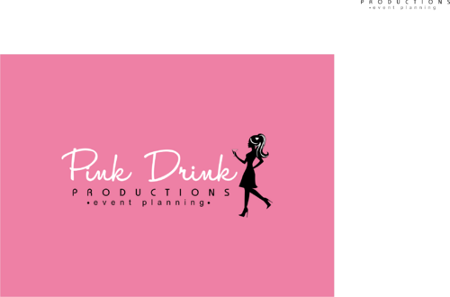 Pink Drink Productions  A Logo, Monogram, or Icon  Draft # 131 by gondezh