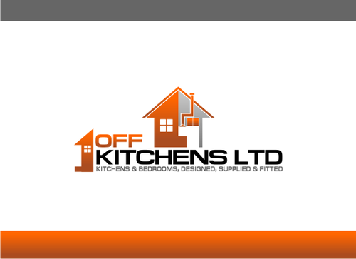 One off Kitchens Ltd A Logo, Monogram, or Icon  Draft # 65 by AdenDesign