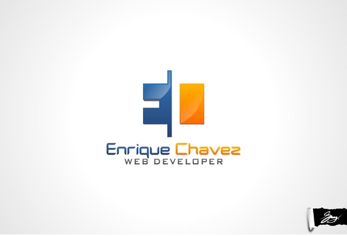 Enrique Chávez A Logo, Monogram, or Icon  Draft # 3 by sway99