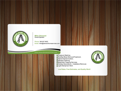Business Cards Needed! Business Cards and Stationery  Draft # 7 by sevensky