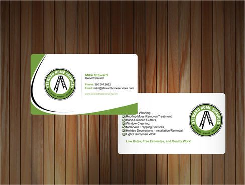 Business Cards Needed! Business Cards and Stationery  Draft # 8 by sevensky