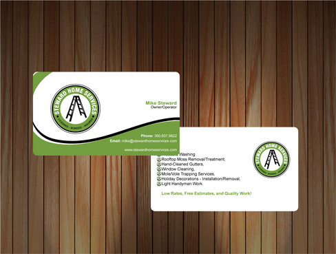 Business Cards Needed! Business Cards and Stationery  Draft # 11 by sevensky