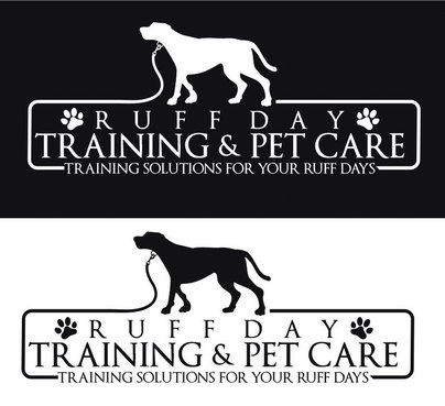 Ruff Day Training and Pet Care A Logo, Monogram, or Icon  Draft # 3 by zkbrand