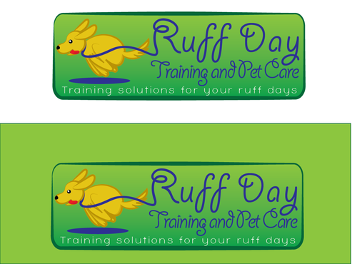 Ruff Day Training and Pet Care A Logo, Monogram, or Icon  Draft # 14 by demeter