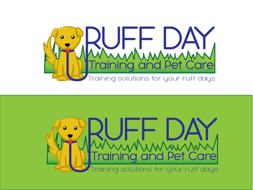 Ruff Day Training and Pet Care A Logo, Monogram, or Icon  Draft # 16 by demeter