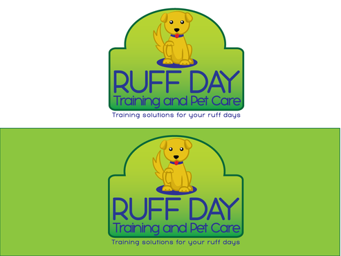 Ruff Day Training and Pet Care A Logo, Monogram, or Icon  Draft # 17 by demeter