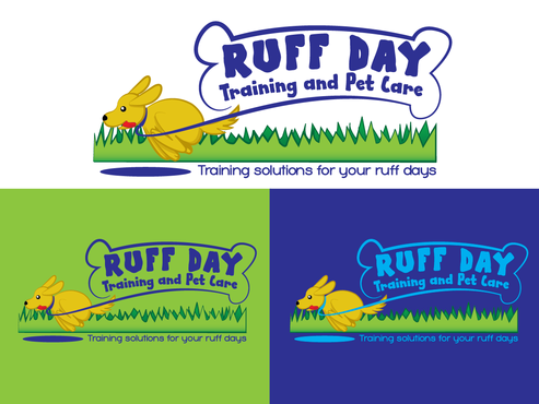 Ruff Day Training and Pet Care A Logo, Monogram, or Icon  Draft # 25 by demeter