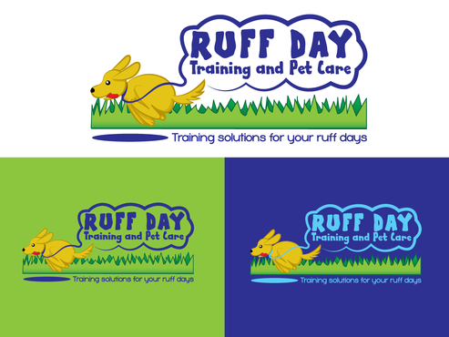 Ruff Day Training and Pet Care A Logo, Monogram, or Icon  Draft # 26 by demeter
