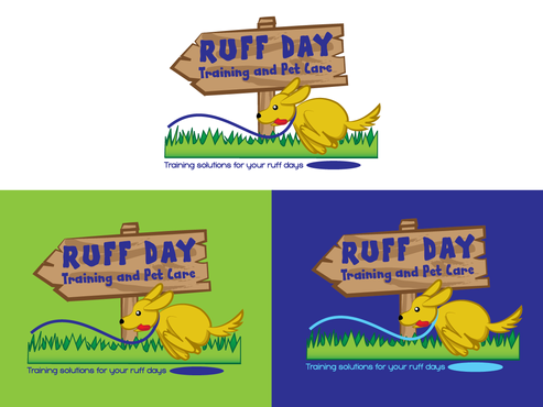 Ruff Day Training and Pet Care A Logo, Monogram, or Icon  Draft # 27 by demeter