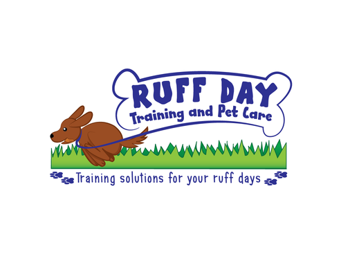 Ruff Day Training and Pet Care A Logo, Monogram, or Icon  Draft # 44 by demeter