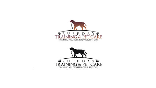 Ruff Day Training and Pet Care A Logo, Monogram, or Icon  Draft # 62 by zkbrand
