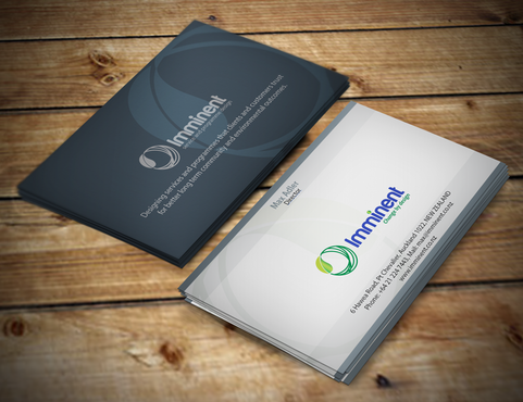 Imminent - a service design company Business Cards and Stationery  Draft # 159 by artleo