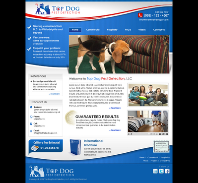 Canine Bed Bug Infestation Detection