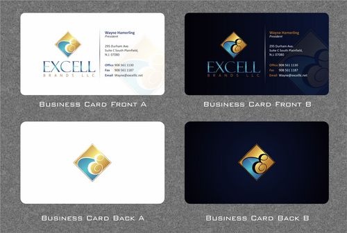 EXCELL BRANDS LLC BUSINESS CARDS AND STATIONERY
