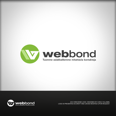 Web Bond A Logo, Monogram, or Icon  Draft # 27 by carlovillamin