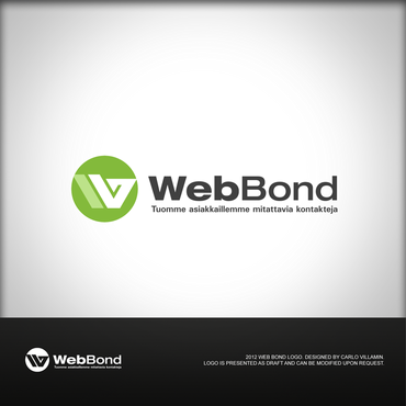 Web Bond A Logo, Monogram, or Icon  Draft # 29 by carlovillamin