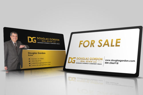Douglas Gordon Real Estate Business Cards and Stationery  Draft # 117 by artup14