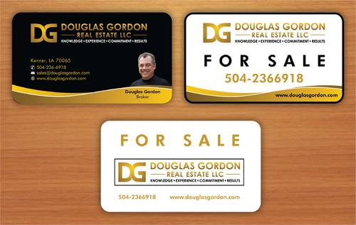 Douglas Gordon Real Estate Business Cards and Stationery  Draft # 119 by smartinfo
