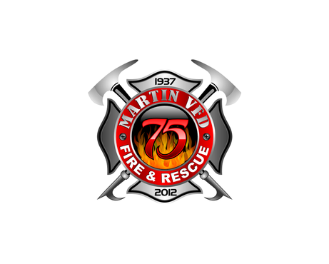 MARTIN VFD FIRE & RESCUE Logo Winning Design by andreydesigner