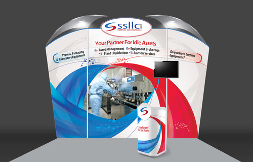 Pharmaceutical Equipment Company Booth Design Project
