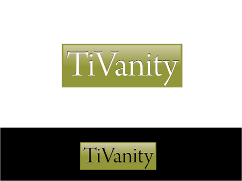 TiVanity A Logo, Monogram, or Icon  Draft # 12 by graciel