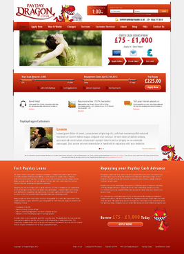 Want slide bar area and better design for home page Web Design  Draft # 6 by HisPresence