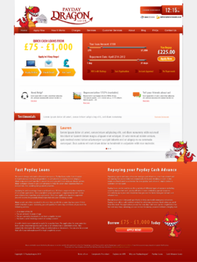 Want slide bar area and better design for home page Web Design  Draft # 14 by HisPresence