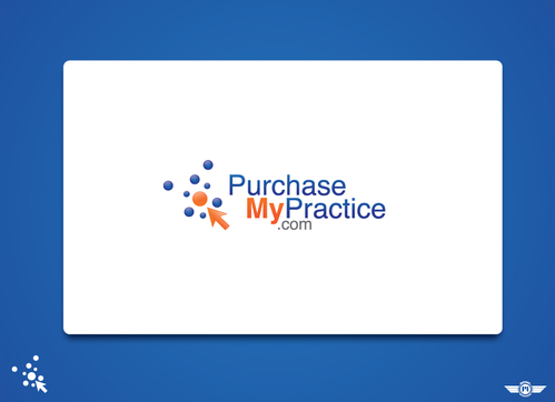PurchaseMyPractice (use of .com) in small text