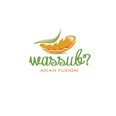 wassub? Asian Fusion A Logo, Monogram, or Icon  Draft # 18 by logoon