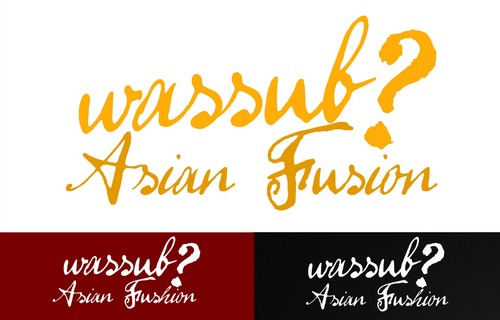 wassub? Asian Fusion A Logo, Monogram, or Icon  Draft # 23 by jareddesigns
