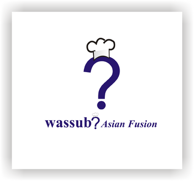 wassub? Asian Fusion A Logo, Monogram, or Icon  Draft # 36 by schary