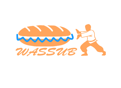 wassub? Asian Fusion A Logo, Monogram, or Icon  Draft # 51 by Phil191