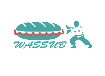 wassub? Asian Fusion A Logo, Monogram, or Icon  Draft # 52 by Phil191
