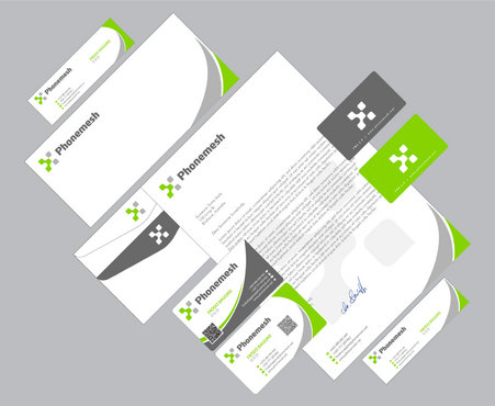 Business Cards, Stationery, Email signature