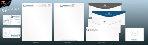 Biz Cards, letterhead, envelop, thank you cards, and powerpoint template