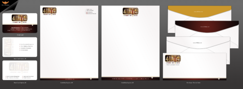 41Live! Business Cards and Stationery  Draft # 174 by einsanimation