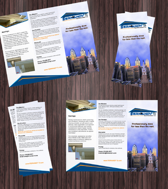 Tri Fold 8.5 x 11 Brochures Marketing collateral  Draft # 2 by Achiver