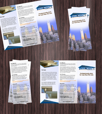 Tri Fold 8.5 x 11 Brochures Marketing collateral  Draft # 4 by Achiver