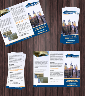 Tri Fold 8.5 x 11 Brochures Marketing collateral  Draft # 6 by Achiver