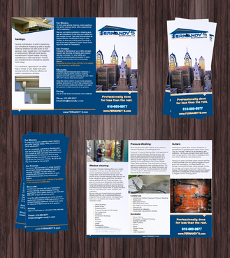 Tri Fold 8.5 x 11 Brochures Marketing collateral  Draft # 7 by Achiver