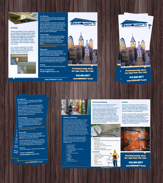 Tri Fold 8.5 x 11 Brochures Marketing collateral  Draft # 11 by Achiver