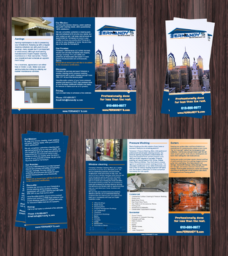 Tri Fold 8.5 x 11 Brochures Marketing collateral  Draft # 13 by Achiver